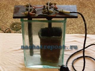 конструкция устройства для получения живой воды