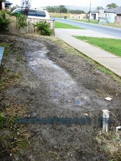 площадка для сухого ручья