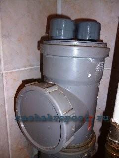 установка воздушного клапана