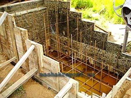 Крыльцо из бетона своими руками—  этапы возведения