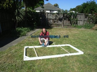 обработка каркаса солнечного коллектора