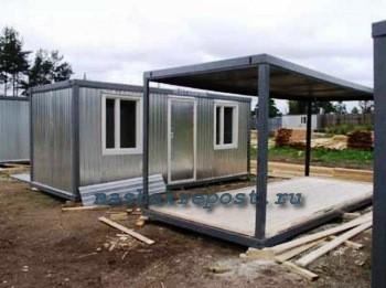 Собственноручная сборка строительного вагончика | подвижный и стационарный варианты