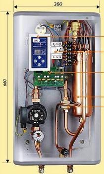 автоматические котлы отопления
