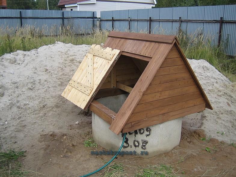 треугольная крышка для колодца