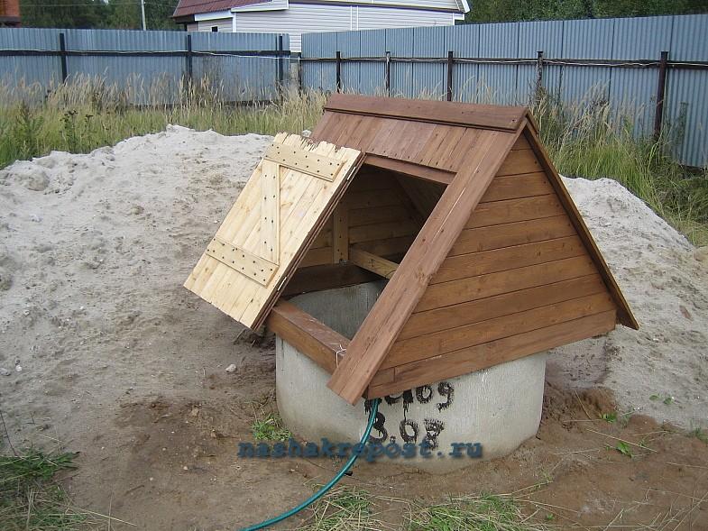Крыша для домика для колодца своими руками - Санком НН