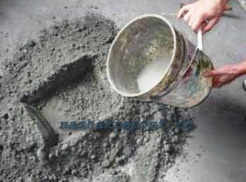 Расход цемента на куб бетона: марки цемента, пропорции бетона