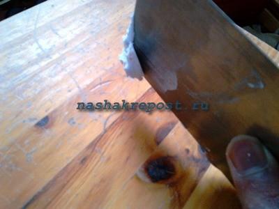 Как отреставрировать стол