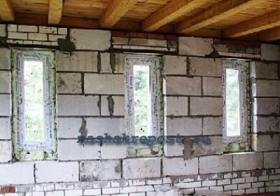Выбор  варианта перекрытия для дома из пеноблоков