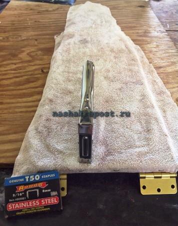 обшивка гладильной доски