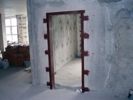 Этапы оформления работ по изготовлению проемов в несущих стенах