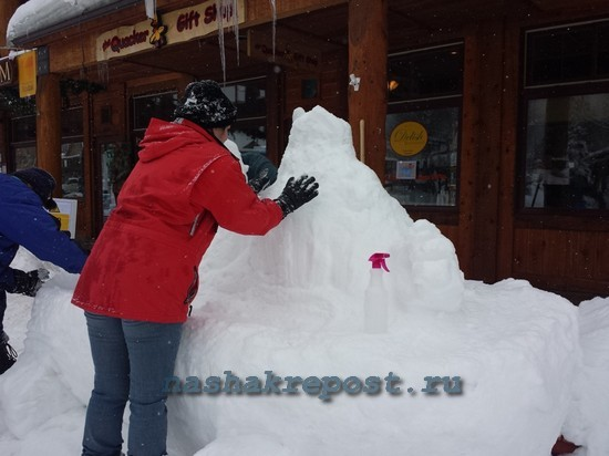 Как построить ледяную фигуру