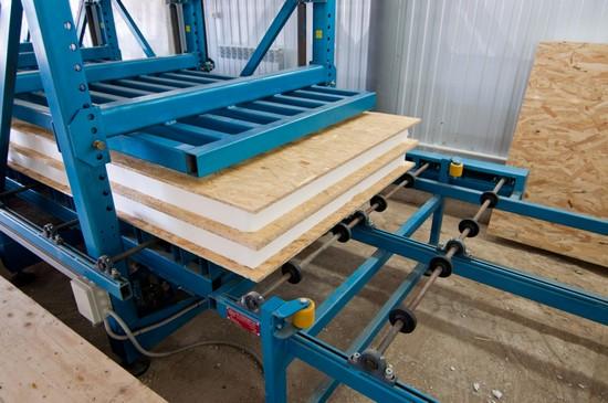 Дом из сип панелей— особенности технологии строительства