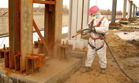 Применение пескоструйных аппаратов для покраски металлоконструкций
